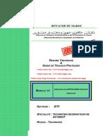 Module n17 Etablissement Des Devis Quantitatifs Et Estimatifs Des Lots Gros Et Second Oeuvres Tdb Ofppt
