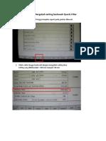 Cara Mengubah Setting Backwash Quartz Filter
