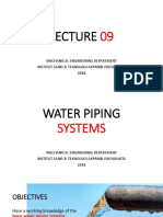 09. Lecture 309 - Piping Systems