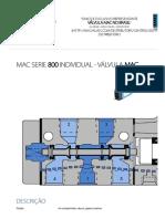 Mac Serie 800 Individual - Válvula Mac - Hmpc Soluções Em Automação