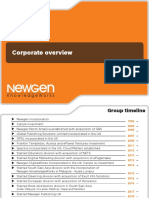 01 Newgen Corporate Overview 2019