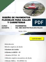 U3 SEMANA 2 y 3 DISEÑO DE PAVIMENTOS FLEXIBLES.pdf