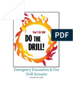 Emergency Evacuation Drill Scenario