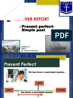 2-Present Perfect- Simple Past