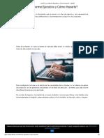 ¿Qué es un Informe Ejecutivo y Cómo Hacerlo_ - Lifeder.pdf
