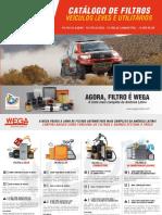 Catalogo de Filtros Para Veiculos Leves e Utilitarios 2018 Wega