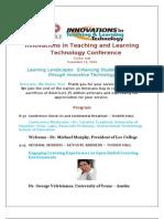 2010 Innovations Conference Program