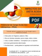 Dieta ácida e saúde intestinal
