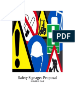 Safety Signages Proposal