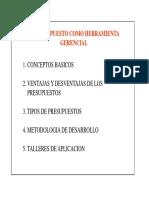 5. Presupuestos - Fundamentos