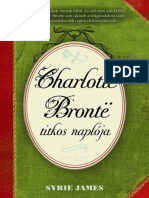 Syrie James - Charlotte Brontë Titkos Naplója