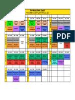 Programación de Clases - Programa CATERPILLAR (Modalidad Virtual 2019)