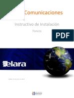 Instructivo de Instalación Foncos v3.0