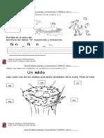 Guía Letra n