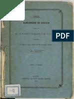 Almanaque de Galicia Para Uso de La Juventud Elegante y de Buen Tono, 1866