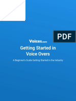 Getting Started Voice Acting