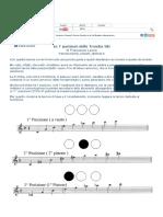 Le 7 Posizioni Della Tromba Sib