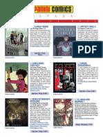Catálogo de novedades de Julio de 2019 - Panini
