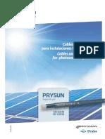 201907 Prysmian Catálogo Cables y Accesorios Para Instalaciones Fotovoltaicas