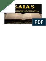 Isaias - Un Cuaderno de Estudio Para Maest - Robert Harkrider