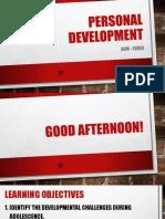 Personal Development ABM
