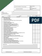 Ft-sst-059 Formato Inspección de Herramienta