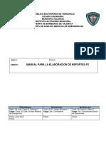 Manual de Procedimiento Para Elaboracion de Reportes de Inspeccion