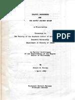 Robert H Kirven EMANUEL SWEDENBORG and the Revolt Against Deism Brandeis Uty MA 1965