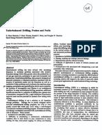 SPE 35242 Underbalanced Drilling, Praises and Perils