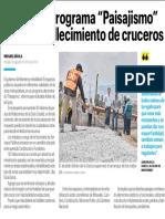 """04-07-19 Arrancan programa """"Paisajismo"""" para embellecimiento de cruceros"""