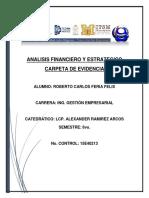 Analisis Financiero y Estrategico Portadas