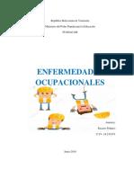 Trabajo Enfermedades Ocupacionales