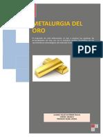 Metalurgia Del Oro Au PDF