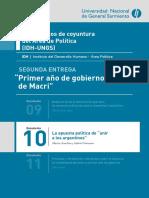 Documento_Coyuntura_10 Unir a Los Argentinos