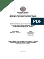 DISEÑO DE UN PROGRAMA DE CAPACITACIÓN PARA EL PERSONAL DE LA FARMACIA LATINA SRL, UBICADA  EN MATURÍN ESTADO MONAGAS. AÑO 2019