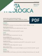 VARO, F., Manuales Academicos de Pentateuco y Libros Historicos Del at (1991-2016), Scripta Theologica, 48-2, 2016 [Articulo]