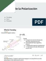Efectos de La Polarización