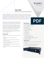 Otu 8000 Optical Test Unit Data Sheets En
