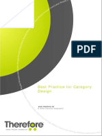 Best Practice for Therefore Category Design