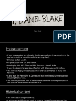 Case Study I, Daniel Blake