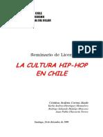 La Cultura Hip-Hop en Chile