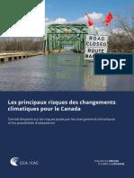 Rapport Les Principaux Risques Des Changements Climatiques Pour Le Canada