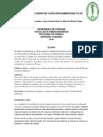Síntesis de Cloruro de Cloro Pentaaminocobalto Articulo