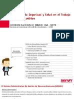 Conferencia Seguridad y Salud Para El Trabajo Chiclayo 2018