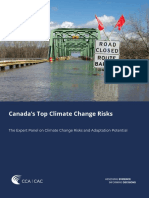 Canada's Top Climate Change Risks