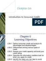 Chapter 6 - Introduction to Consumer Credit