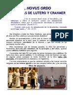 +EL NOVUS ORDO Y LA MISA DE LUTERO Y CRANMER