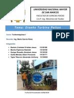 Pelton Turbina Informe