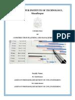 Cpm Course File