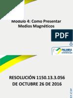 Modulo 4 Como Presentar Medios Magneticos